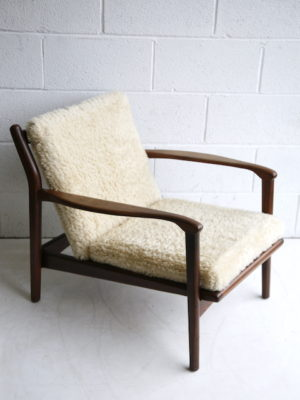 1960s Afromosia Armchair by Toothill