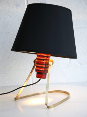 1960s Brass Table Lamp