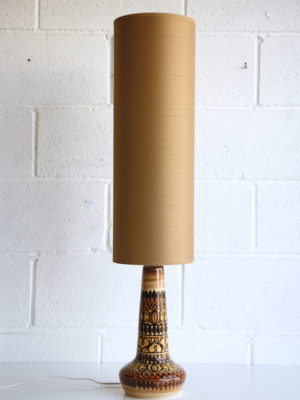 1960s Jersey Pottery Table Lamp 1