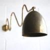 1950s Brass Articulated Wall Light