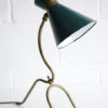 1950s French Brass Table Lamp 3