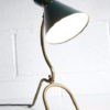 1950s French Brass Table Lamp 7