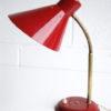 1950s Red Desk Lamp