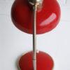 1950s Red Italian Desk Lamp
