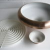 1960s Brushed Copper Ceiling Light 1