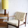1960s Walnut Table Lamp 1