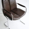 1970s Leather Armchair by Pieff