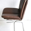 1970s Leather Dining Chairs by Pieff