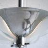 Art Deco Chrome Ceiling Light 1