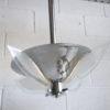 Art Deco Chrome Ceiling Light 2