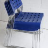 'Omstak' OMK Stacking Chairs By Rodney Kinsman