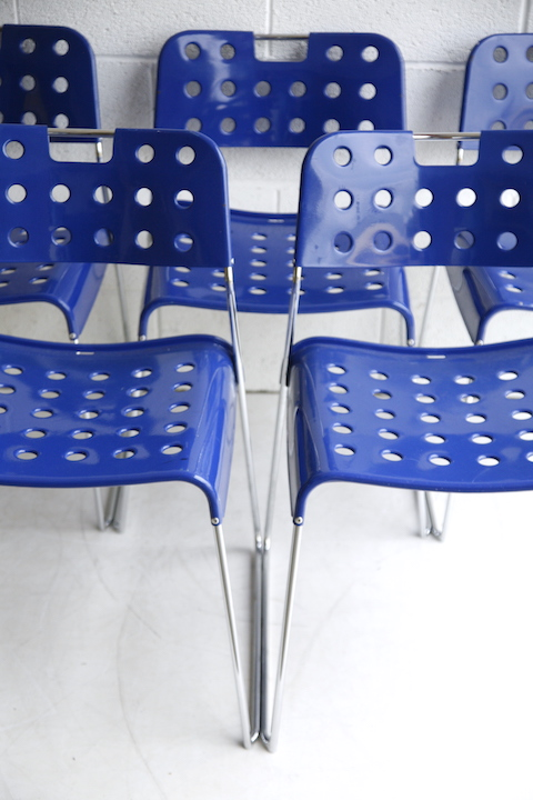 'Omstak' OMK Stacking Chairs By Rodney Kinsman 3