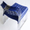 'Omstak' OMK Stacking Chairs By Rodney Kinsman 4