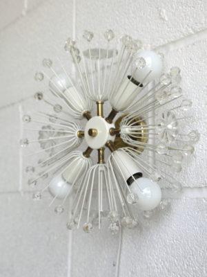 1950s Snowball Wall Light by Emil Stejnar 4